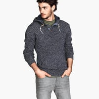 H&M Hooded Knit Sweater $34.95