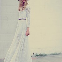 Free People Womens Merrie's White Victorian