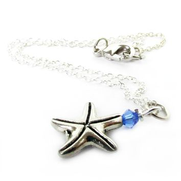 Dainty Starfish Anklet