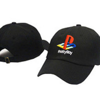Pretty Boy Playstation Logo Black Dad Hat