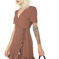 Half Baked Polka Dot Dress