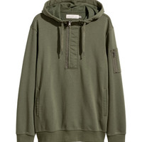 H&M Hooded Sweatshirt with Zip $39.99