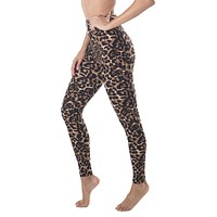Buttery Soft Leggings High Yoga Waist - Leopard