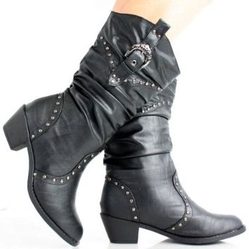 West Blvd Womens MOSCOW COWBOY Boots