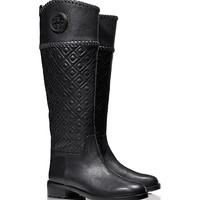 Tory Burch Marion Quilted Riding Boot