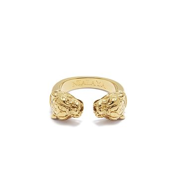 PRE-ORDER: Panther Ring in Gold
