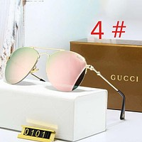 GUCCI New fashion polarized couple glasses sun shades eyeglasses