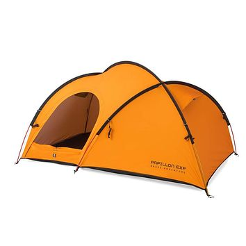 ZEROGRAM Papillon EXP 2 Person Tent, Hiking, Backpacking Lightweight Tent-Bright Marigold