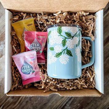 Hydrangea Tea Time Gift Bundle