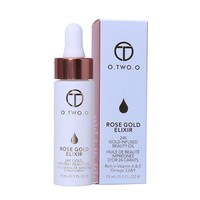O.TWO.O 24k Rose Gold Elixir Skin Make Up Essential Oil For Lip Face Before Primer Foundation Moisturizing Face Oil Anti-aging