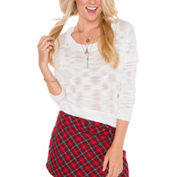 Indie Queen Top - White