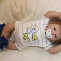 Silicone Baby Dolls knit Toddler vinyl Soft Full Arms and Legs