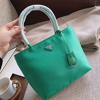 prada women leather shoulder bag satchel tote bag handbag shopping leather tote crossbody satchel shouder bag 34
