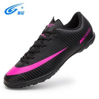 zhenzu High Quality Indoor Football Shoes Kids Boys Soccer Boots Cleats Sneaker Trainers New Design Sports Shoes voetbalschoenen