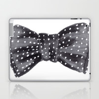Dotted Bow Laptop & iPad Skin by Social Proper