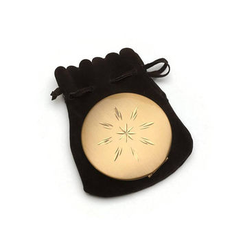 Regent of London Compact | Starburst Pattern | Vintage Compact | Vintage 1950s | Face Powder Box | Pressed Solid Powder Compact