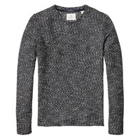 Midnight Melange Sweater by Scotch and Soda