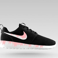 Nike Roshe Run custom design, Pink spill,