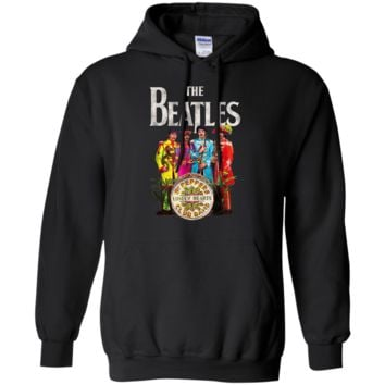 The Beatles Lonely Hearts Sergeant Pullover Hoodie 8 oz.