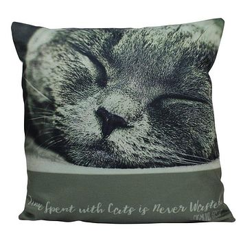 Cat |  Face | Cat Pillow | Cute Cat | Cat Gifts | Cat Decor | Cat Photo | Gifts for Cat Lovers | Accent pillow | Throw Pillow Covers