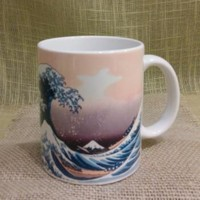 Japanese Hokusai Woodblock Print Tea Mugs