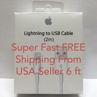 iPhone Charger For Apple iPhone 5 5s 5c 6 6 Plus USB Lightning Cable Data Sync