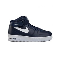 Nike Men's Air Force 1 Mid '07 AN20 Navy White