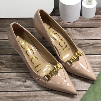 Gucci pointy sexy single shoes