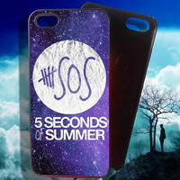 5 Seconds of Summer nEBULA iPhone 4 4S iPhone 5 5S 5C and Samsung Galaxy S3 S4 S5 Case