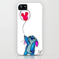 Stitch doesn't want to leave Disney World iPhone Case by Trinity Bennett | Society6