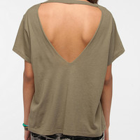 Truly Madly Deeply Open V-Back Tee