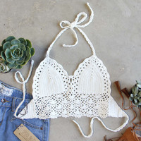 The Woodstock Crochet Top