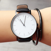 Fashion Men Leather Watch High-quality Watches + Christmas Gift Box-62