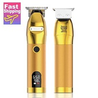 new professional barber clipper hair trimmer electric shaver for men trimmer for men mower hair cutting machine beard trimmer