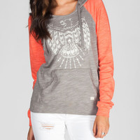 Billabong Have It All Womens Hoodie Grey/Coral  In Sizes