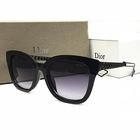 DIOR Women Casual Popular Summer Sun Shades Eyeglasses Glasses Sunglasses-7