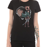 Attack On Titan Levi Girls T-Shirt