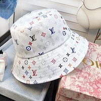 LV Louis Vuitton Summer Women Men Sun Cap Fisherman Hat
