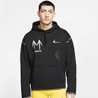 Nike x Off-White 2020 autumn and winter new long-sleeved pullover hooded sweater