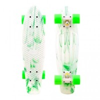 Penny Skateboards USA Penny Marble White Green - PENNY MARBLES - SHOP ONLINE