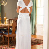 All For One Maxi Dress, Ivory
