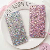 Womens Shining Case Cover for iPhone 7 7Plus & iPhone se 5s 6 6 Plus +Gift Box