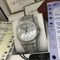 cc auguau Patek P FULL DIAMOND 324SC Movement