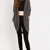 Sparkle & Fade Rib Knit Cocoon Cardigan - Urban Outfitters