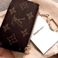 LV Tide brand classic zip coin purse