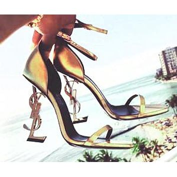 YSL 2019 new ultra high heel sexy shaped with sandals high heels shoes 15#