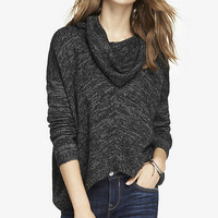 OVERSIZED MARLED COWL NECK SWEATER from EXPRESS