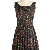 Painted Lovely Dress | Mod Retro Vintage Printed Dresses | ModCloth.com