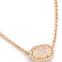 Chelsea Pendant Necklace In Rose Gold