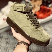 Nike Air Force 1 Mid Green AF1 shoe
